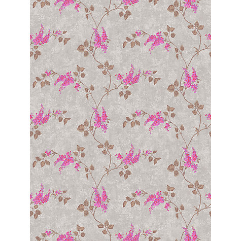 Buy Cole & Son Lilac Wallpaper, Silver / Pink, 81/3012 Online at johnlewis.com