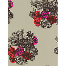 Buy Cole & Son Peonie Wallpaper, Green / Pink, 77/3011 Online at johnlewis.com