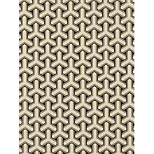 Buy Osborne & Little Trifid Wallpaper, Black, W5556-02 Online at johnlewis.com