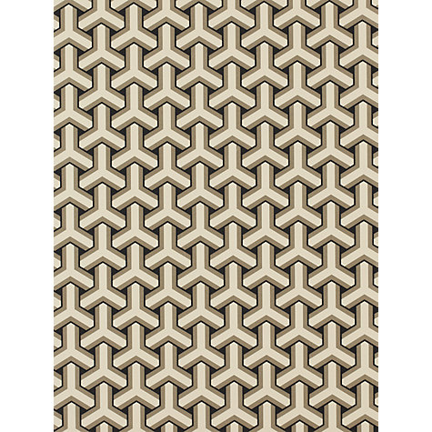 Buy Osborne & Little Tridid Wallpaper, Black, W5556-02 Online at johnlewis.com