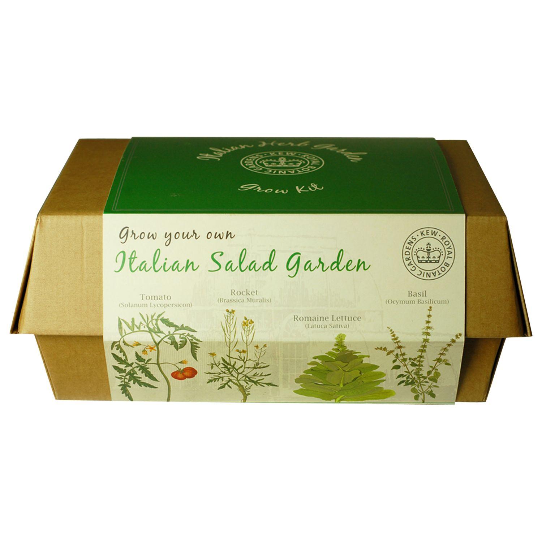 Kew Gardens Provencal Italian Salad Garden Grow Box