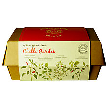 Buy Kew Gardens Chilli Garden Grow Box Online at johnlewis.com