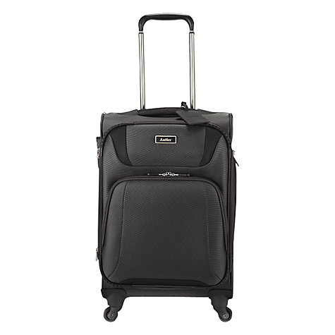 Buy Antler Airstream 4-Wheel Cabin Suitcase, Charcoal Online at johnlewis.com