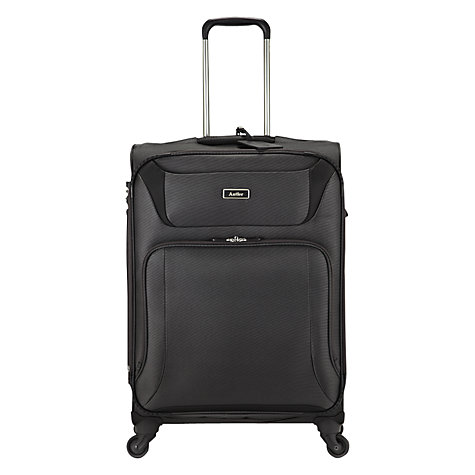 Buy Antler Airstream 4-Wheel Medium Suitcase, Charcoal Online at johnlewis.com