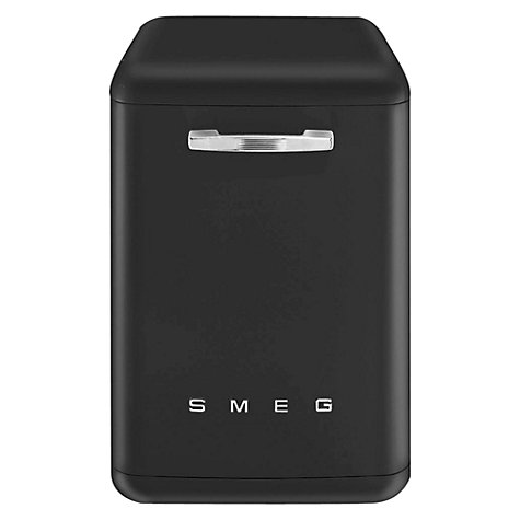 Buy Smeg DF6FABNE1 Dishwasher, Black Onyx Online at johnlewis.com