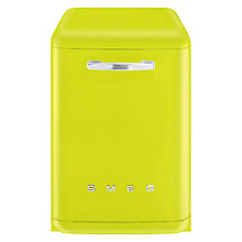Buy Smeg DF6FABVE1 Dishwasher, Lime Green Online at johnlewis.com