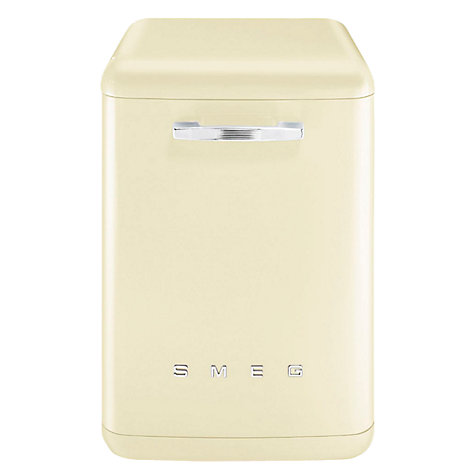 Buy Smeg DF6FABP1 Dishwasher, Country Cream Online at johnlewis.com