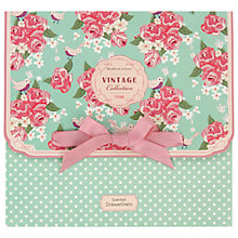 Buy Heathcote & Ivory Vintage Rose Scented Drawer Liners, Pack of 5 Online at johnlewis.com