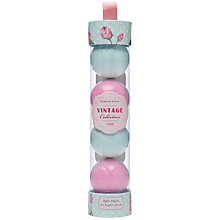 Buy Heathcote & Ivory Vintage Rose Bath Melts, Pack of 4 Online at johnlewis.com