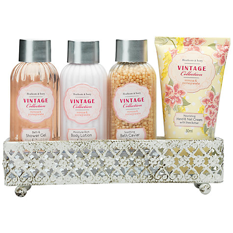 Buy Heathcote & Ivory Vintage Mimosa & Pomegranate Indulge Me Set Online at johnlewis.com