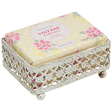 Buy Heathcote & Ivory Vintage Mimosa & Pomegranate Shabby Chic Milled Soap, 150 g Online at johnlewis.com