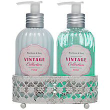 Buy Heathcote & Ivory Vintage Rose Handcare Duo Chic Set Online at johnlewis.com
