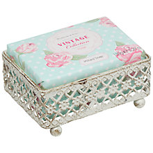 Buy Heathcote & Ivory Vintage Rose Shabby Chic Milled Soap, 150 g Online at johnlewis.com