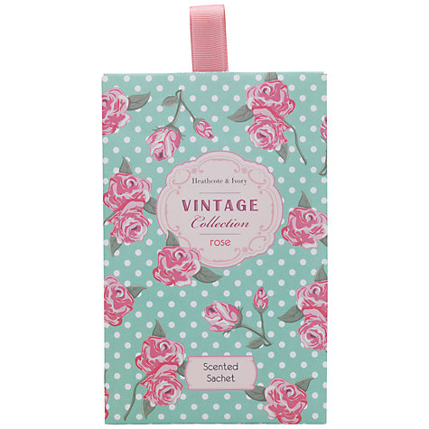Buy Heathcote & Ivory Vintage Rose Scented Sachets Online at johnlewis.com