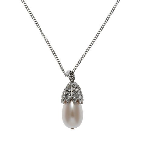 Buy John Lewis Vintage Acorn Pearl Necklace Online at johnlewis.com