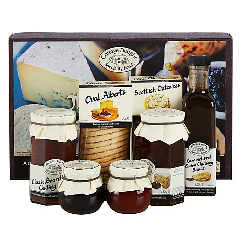 Buy Cottage Delight Indulgent Cheese Board Hamper Online at johnlewis.com