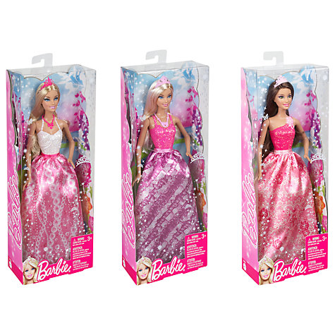 Buy Barbie Princess Doll, Assorted Online at johnlewis.com