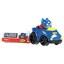 Buy Fisher-Price Little People DC Super Friends Wheelies Car, Assorted Online at johnlewis.com