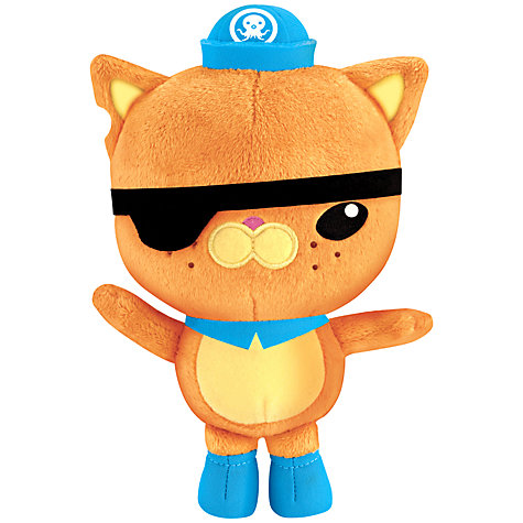 Buy Octonauts Plush Soft Toy, Assorted Online at johnlewis.com