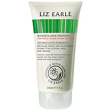 Buy Liz Earle Botanical Shine Treatment, 150ml Online at johnlewis.com