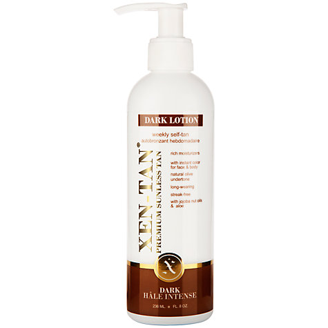 Buy Xen-Tan Dark Lotion, 236ml Online at johnlewis.com