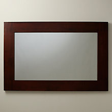 Buy Stockholm Wall Mirror, Brown, 91 x 138cm Online at johnlewis.com