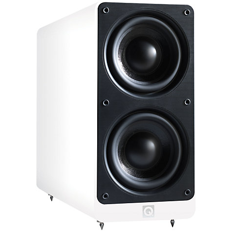 Buy Q Acoustics 2070Si Subwoofer, White Online at johnlewis.com