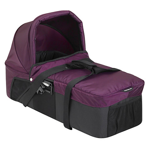 Buy Baby Jogger City Mini Compact Carrycot, Purple Online at johnlewis.com