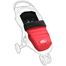 Buy Baby Jogger City Multi-fit Footmuff, Crimson Online at johnlewis.com
