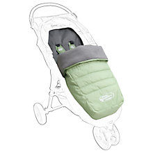 Buy Baby Jogger City Multi-fit Footmuff, Green Online at johnlewis.com