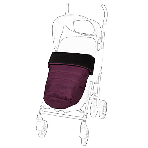 Buy Baby Jogger City Select Footmuff, Amethyst Online at johnlewis.com