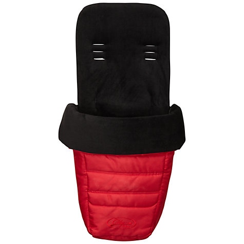 Buy Baby Jogger City Select Footmuff, Ruby Online at johnlewis.com