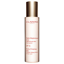 Buy Clarins Extra-Firming Day Wrinkle Lifting Lotion SPF15 - All Skin Types, 50ml Online at johnlewis.com