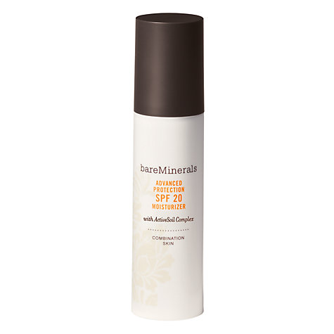 Buy bareMinerals Advanced Protection SPF20 Moisturiser - Combination Skin, 50ml Online at johnlewis.com
