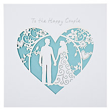Buy Paperlink Wedding Greeting Card Online at johnlewis.com