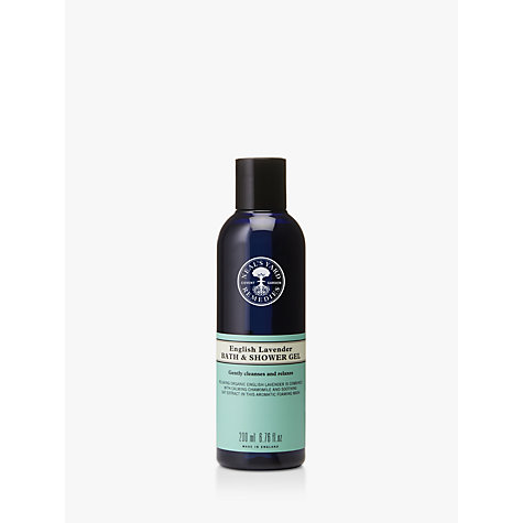 Buy Neal's Yard New English Lavender Shower Gel, 200ml Online at johnlewis.com