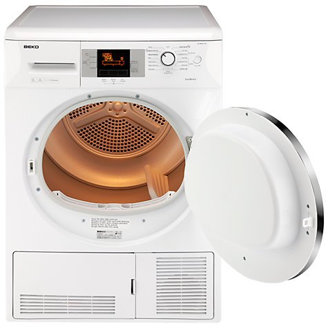 Buy Beko DP8045CW Condenser Tumble Dryer, 8kg Load, A Energy Rating, White Online at johnlewis.com