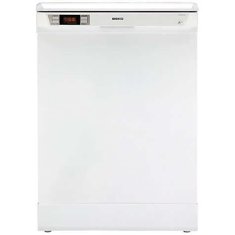 Buy Beko DW80323W Dishwasher, White Online at johnlewis.com