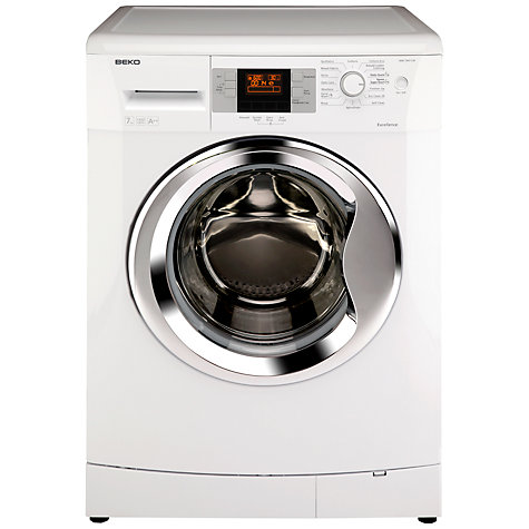 Buy Beko WM7043CW Washing Machine, 7kg Load, A++ Energy Rating, 1400rpm Spin, White Online at johnlewis.com