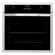 Buy John Lewis JLBIOS611 Single Oven, Stainless Steel Online at johnlewis.com