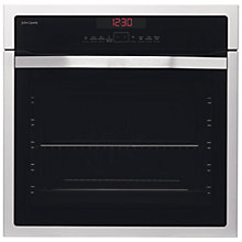 Buy John Lewis JLBIOS612 Single Oven, Stainless Steel Online at johnlewis.com