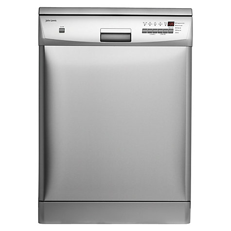 Buy John Lewis JLDWS1226 Dishwasher, Stainless Steel Online at johnlewis.com