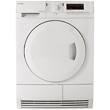 Buy John Lewis JLTDH16 Condenser Sensor Tumble Dryer, 7kg Load, A Energy Rating, White Online at johnlewis.com