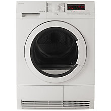 Buy John Lewis JLTDH17 Condenser Sensor Tumble Dryer, 8kg Load, A Energy Rating, White Online at johnlewis.com