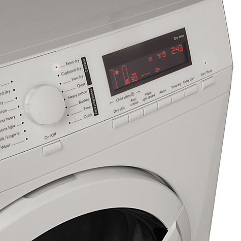 Buy John Lewis JLTDH17 Condenser Sensor Tumble Dryer, 8kg Load, A+ Energy Rating, White Online at johnlewis.com