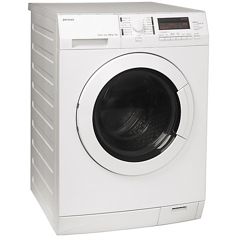 Buy John Lewis JLWD1611 Washer Dryer, 8kg Wash/6kg Dry Load, A Energy Rating, 1600rpm Spin, White Online at johnlewis.com
