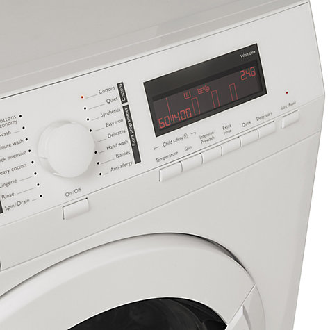 Buy John Lewis JLWM1411 Washing Machine, 8kg, A+++ Energy Rating, 1400rpm Spin, White Online at johnlewis.com