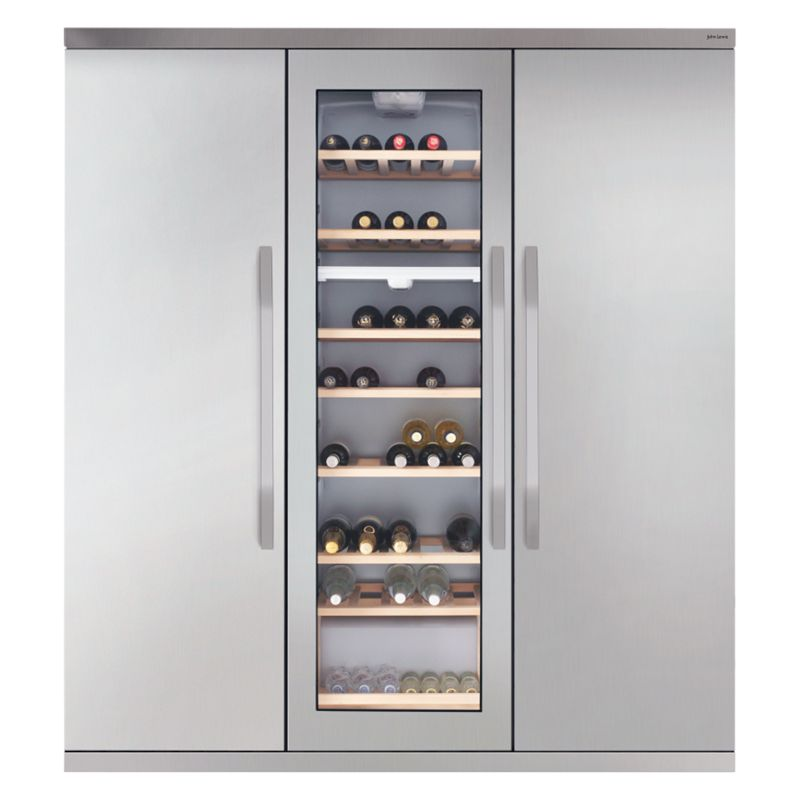 JOHN LEWIS JLFFW1554 SLIMDEPTH WINE COOLER TRIPLE
