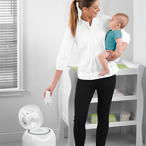 Buy Tommee Tippee Sangenic Nappy Disposal System Online at johnlewis.com