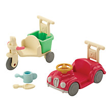 Buy Sylvanian Families Baby Car and Tricycle Online at johnlewis.com
